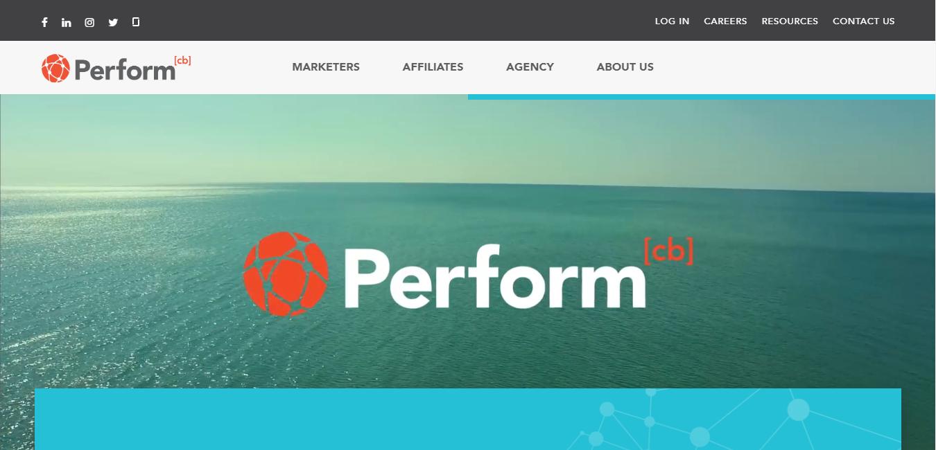 performcb homepage